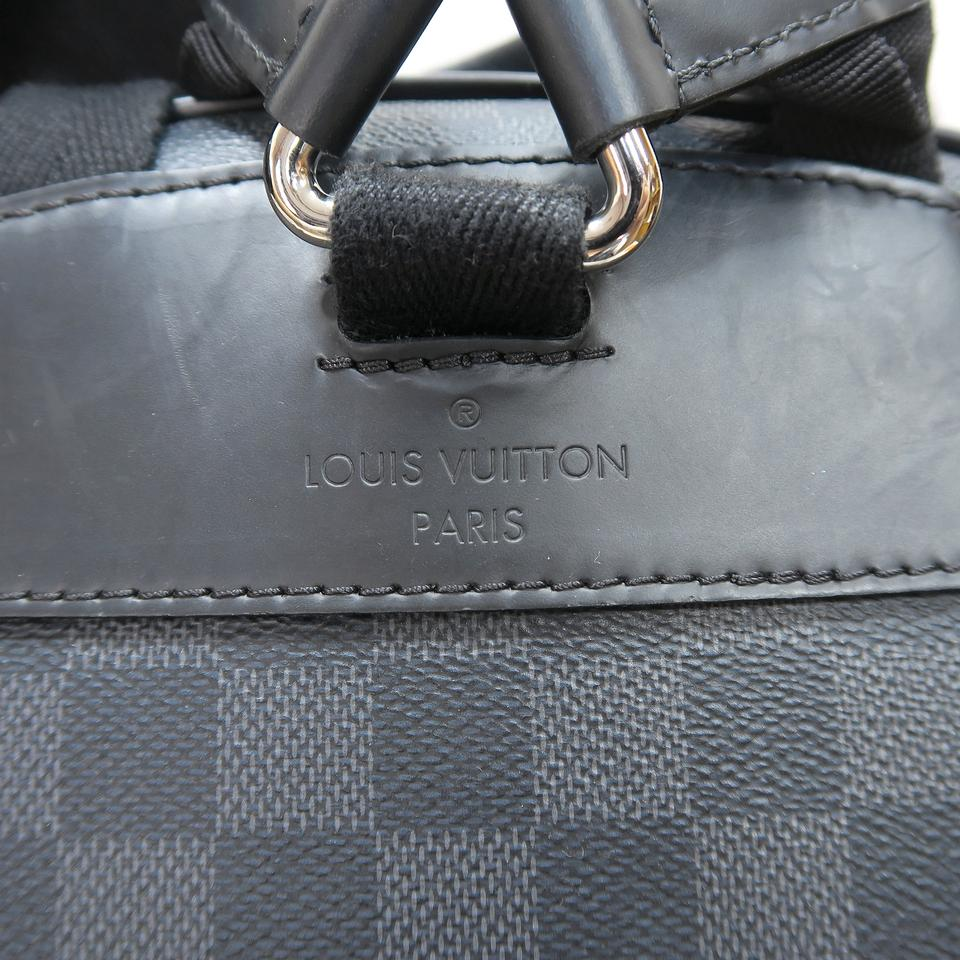 82c3fb71697d Louis Vuitton Lv Josh Damier Graphite Rope Backpack Image 11.  123456789101112