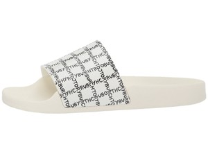 Tory Burch Rubber White Sandals