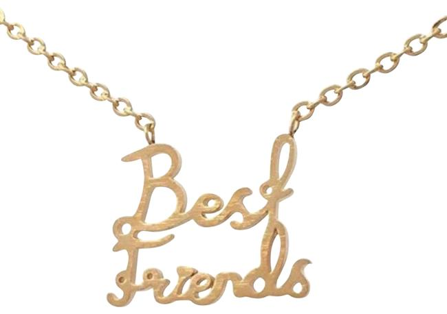 Item - Stainless Steel Fashion Student Best Friends Bff Pendant Necklace