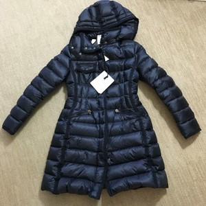 4f9e2c6c2 Moncler Navy Hermine Hooded Puffer Jacket Size 2 (XS) 49% off retail