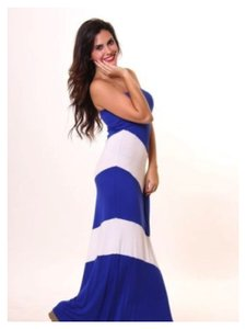 Blue Maxi Dress by Vanilla Bay