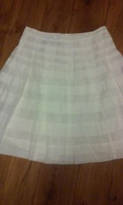 Talbots Skirt white