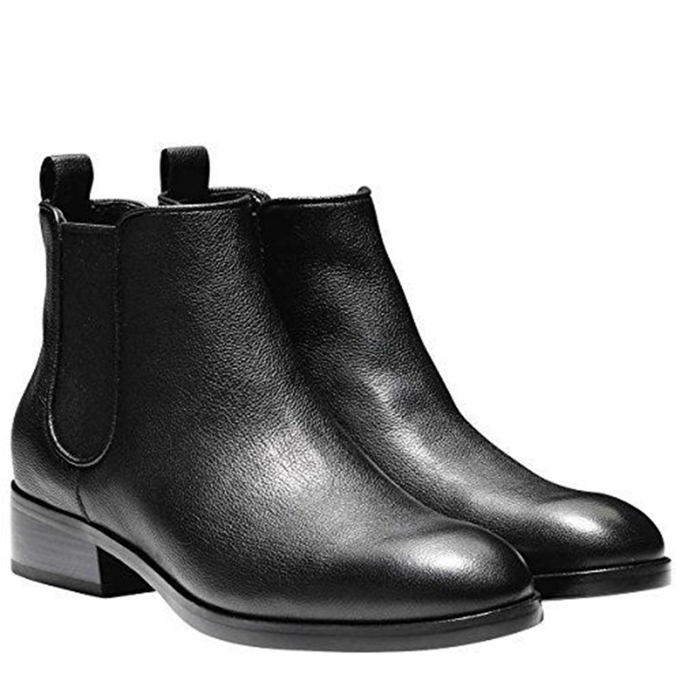 59fd08a598722 Cole Haan Black Women's Leather Casual Ankle B Boots/Booties Size US ...