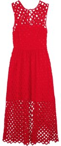 red Maxi Dress by Sandro