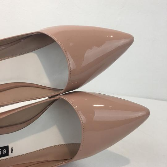 Alice + Olivia Rose Tan Pumps