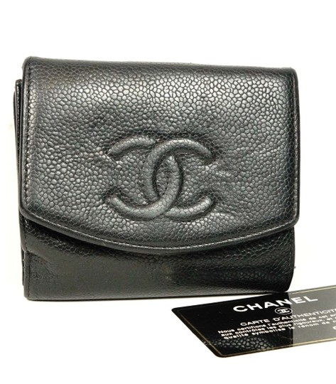 d80467f5bbfd Chanel Bifold Wallet Black Caviar | Stanford Center for Opportunity ...