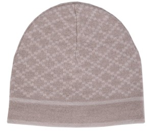 Gucci NEW Gucci Men's 281600 100% Wool Diamante Camel Beige Beanie Ski Hat