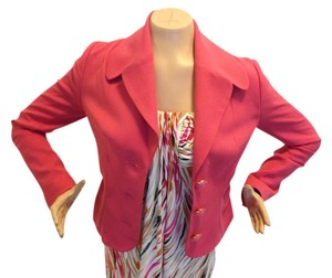 Tracy Reese Coral Pink Blazer