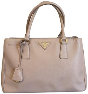 Prada Saffiano Classic Leather Practical Tote in Blush
