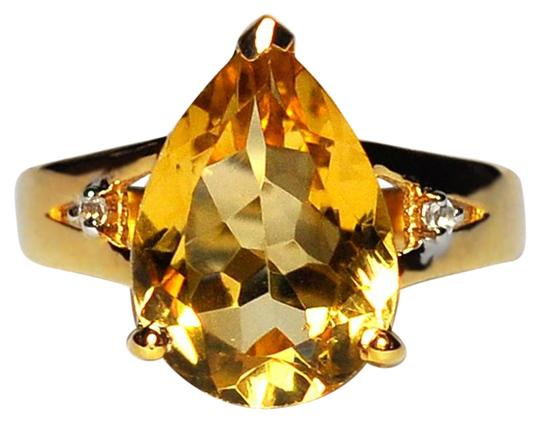 Preload https://img-static.tradesy.com/item/22607512/ny-collection-yellow-womens-pear-citrine-topaz-solitaire-sterling-silver-387ct-ring-0-1-540-540.jpg