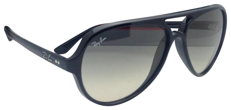 a0076c28905 Ray-Ban Rb 4125 Cats 5000 601 32 59-13 Black W Grey Gradient Lens ...