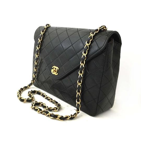 979c4748c44606 Chanel Bag Nice France. 2011 Chanel nice little bag in black quilted jersey  ...