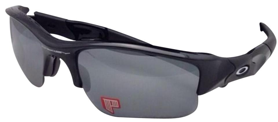 eabb2bfb380 Oakley Polarized OAKLEY Sunglasses FLAK JACKET XLJ 12-903 Black Frame ...