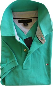 Tommy Hilfiger Polo Men's Large Button Down Shirt teal