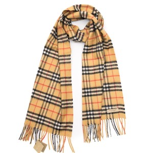 Burberry Classic Vintage Check Cashmere Scarf