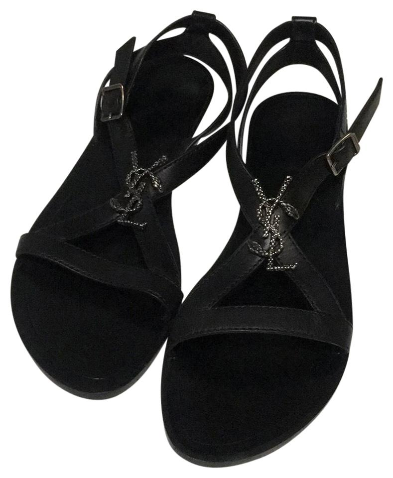 Saint Laurent Black Gm 457783 Sandals Sandals 457783 5a93d1