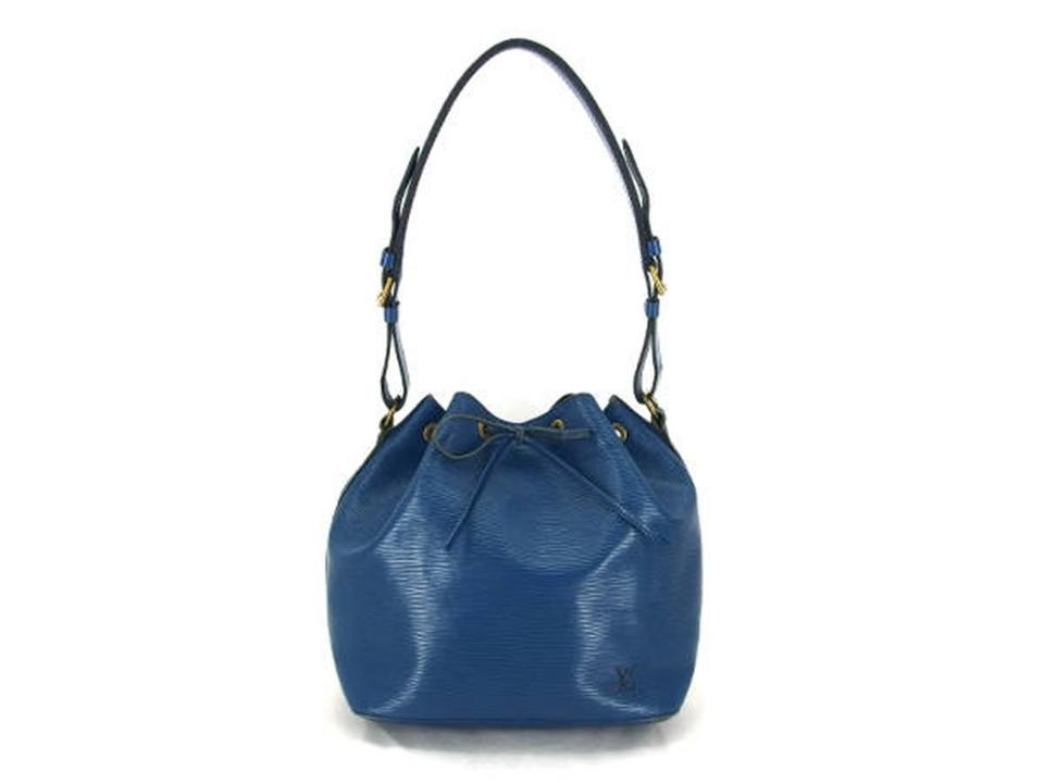 cd8a6747c282 Louis Vuitton  1st Dibs  Epi Petit Noe 224180 Blue Leather Hobo Bag ...