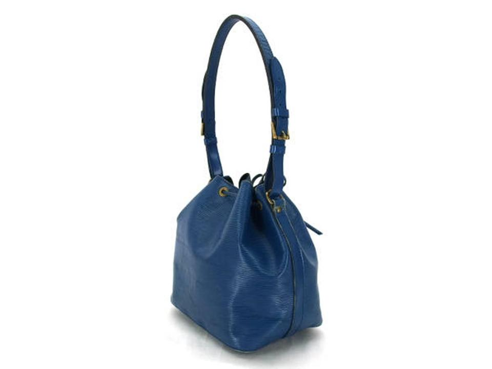 9c49f522e006 Louis Vuitton  1st Dibs  Epi Petit Noe 224180 Blue Leather Hobo Bag ...