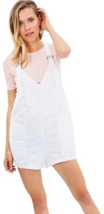 Free People Plunging V Neck Adjustable Straps Pockets Galore Relaxed Fit Cool + Breathable Dress
