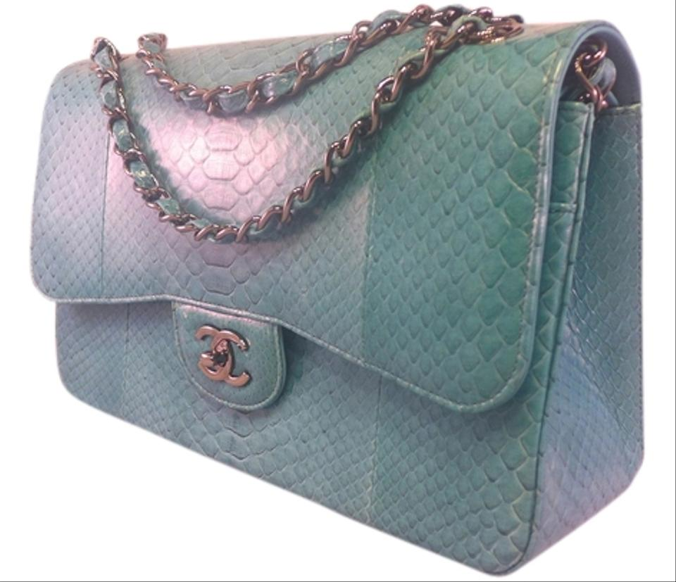 75869451588b65 Chanel Classic Flap New Most Limited Classic Double Jumbo Light Blue ...