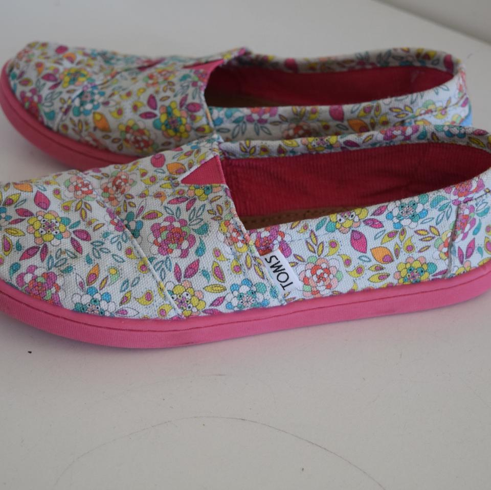 Floral Toms Shoes For Sale