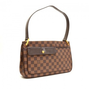 Louis Vuitton Damier Ebene Aubagne Aubagne Shoulder Bag