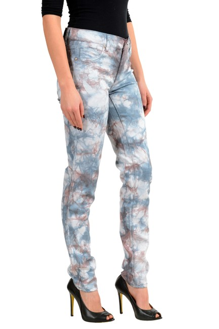 Versace Jeans Collection Multi-color V-8080 Skinny Jeans Size 26 (2, XS) Versace Jeans Collection Multi-color V-8080 Skinny Jeans Size 26 (2, XS) Image 3