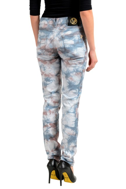 Versace Jeans Collection Multi-color V-8080 Skinny Jeans Size 27 (4, S) Versace Jeans Collection Multi-color V-8080 Skinny Jeans Size 27 (4, S) Image 3
