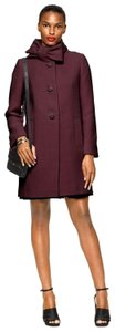 Kate Spade Holiday Winter Bow Wool Pea Coat