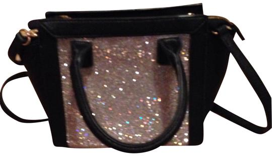 Mms Design Studio Rhinestone Purse Black Tote Tradesy