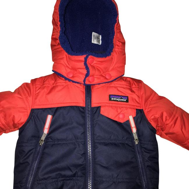 Item - Red/Blue Baby Reversible Coat Size OS (one size)