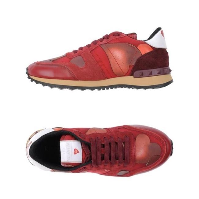 Item - Red White New Sneakers Size EU 35 (Approx. US 5) Regular (M, B)