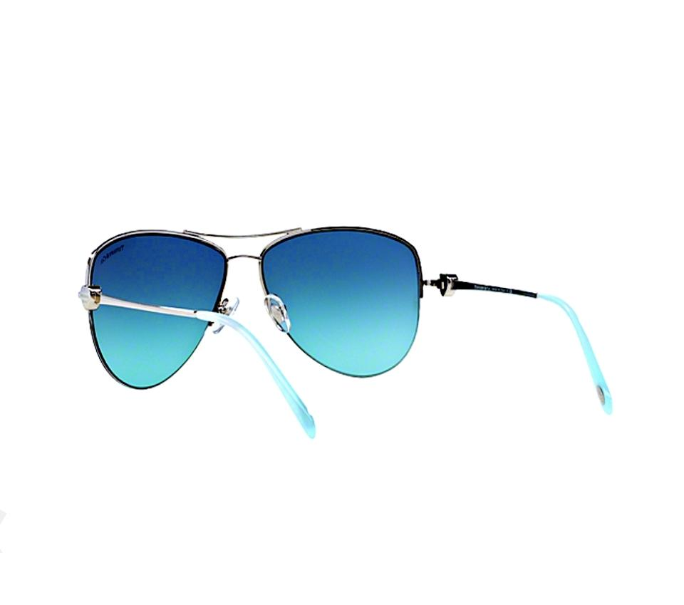 d9a0e61dfc8a Silver Tiffany Aviator with Blue Lens TF 3021 - FREE 3 DAY. 12345678910
