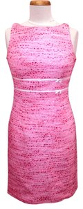 Carmen Marc Valvo short dress Pink Sleeveless on Tradesy