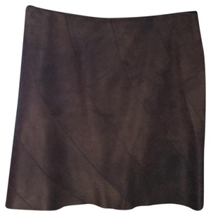 Elie Tahari leather skirt
