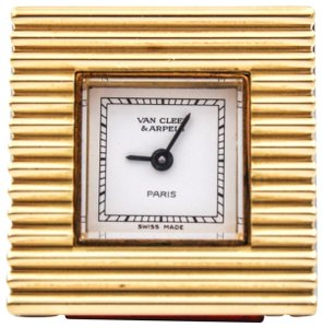 Van Cleef & Arpels VAN CLEEF & ARPELS Interchangeable Bezel Square Quartz Women's Watch