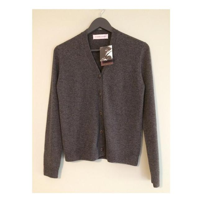 Item - New Cashmere Button Front Charcoal Grey Sweater