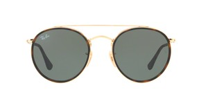 Ray-Ban Gold Rounded Ray Ban RB 3647N 001 - SHIPS IMMEDIATELY
