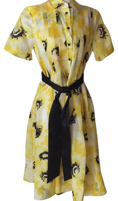 Item - Yellow Mid-length Casual Maxi Dress Size 8 (M)