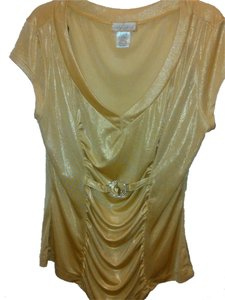 Baby Phat Top Gold w/Diamond accent emblem