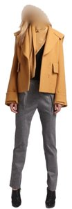 3.1 Phillip Lim Short With Removable Scarf Pea Coat