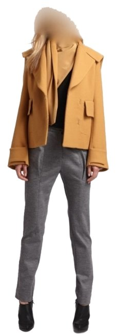 Preload https://item5.tradesy.com/images/31-phillip-lim-mustard-short-coat-with-removable-scarf-2261174-0-0.jpg?width=400&height=650