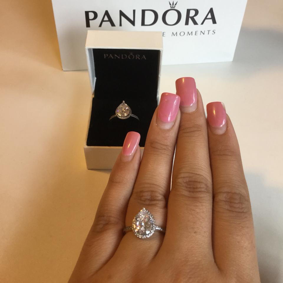 015768058b246 pandora rings size 7 rose