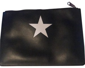 Givenchy black, star [white] Clutch