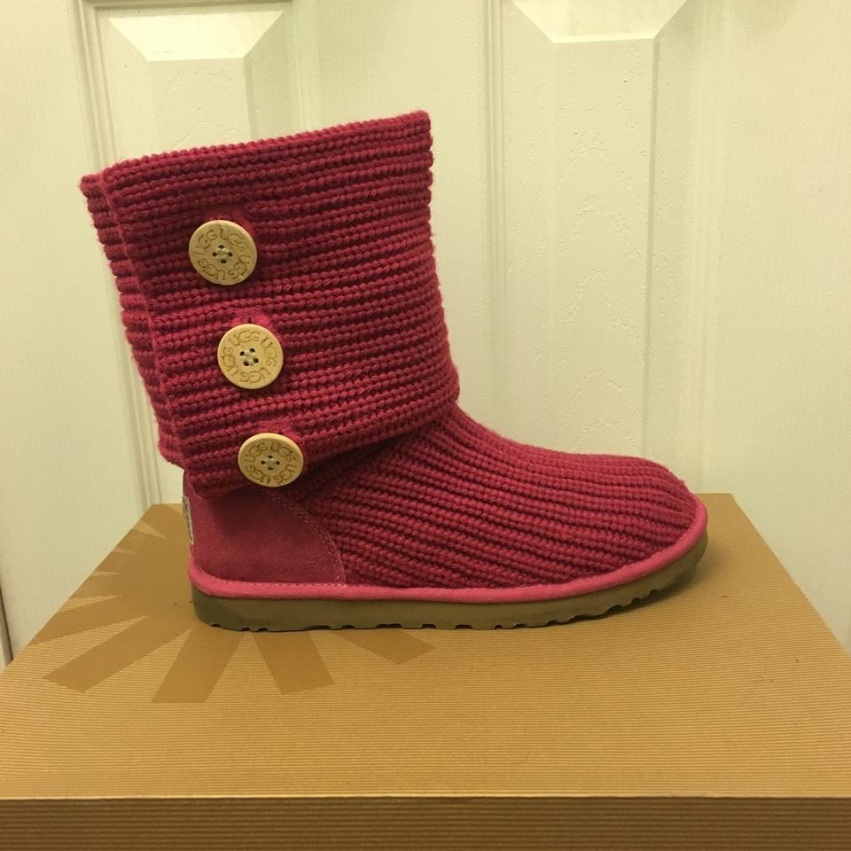 8996a0479 UGG Australia Ruby Classic Cardy Boots/Booties Size US 9 Regular (M ...