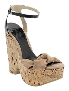 Jimmy Choo black / nude Wedges