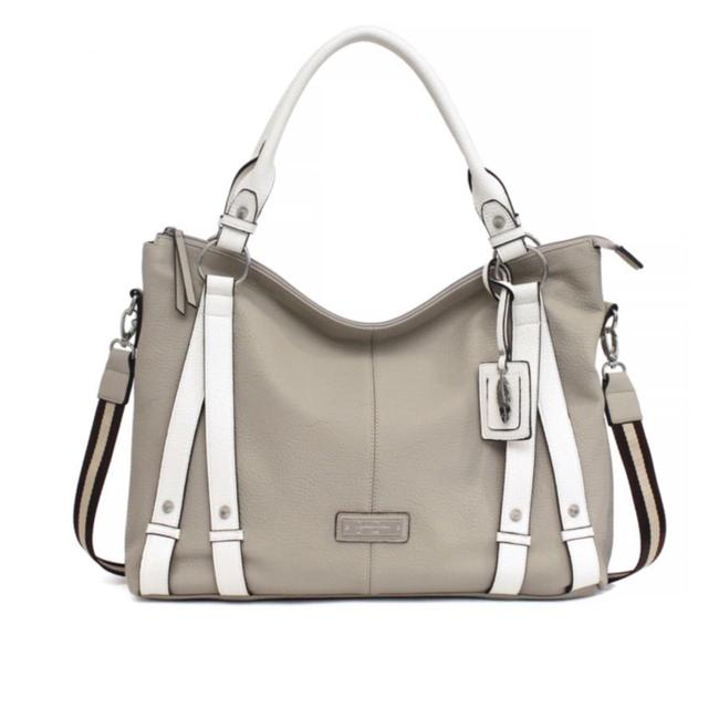 Item - Greer Gris Faux Leather Tote
