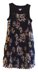 Xhilaration short dress Black, Navy, Cream on Tradesy