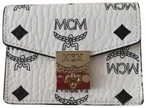MCM MCM Patricia Visetos Accodion Card Mini Wallet