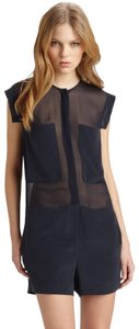 T by Alexander Wang Sexy Sheer Shorts Night Out Dress